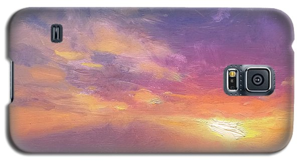 Coastal Hawaiian Beach Sunset Landscape And Ocean Seascape Galaxy S5 Case