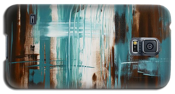 Waterfall In Paradise Galaxy S5 Case