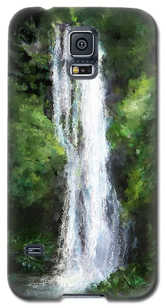Maui Waterfall Galaxy S5 Case by Susan Kinney