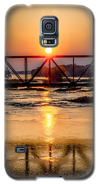Maumee River At Grand Rapids Ohio Galaxy S5 Case