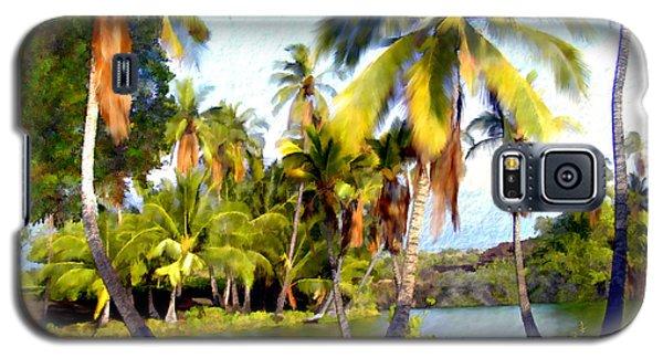 Mauna Lani Fish Ponds Galaxy S5 Case