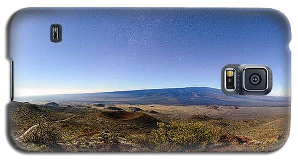 Mauna Loa Moonlight Panorama Galaxy S5 Case