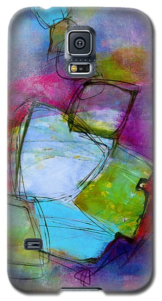 Galaxy S5 Case featuring the painting Maverick by Katie Black