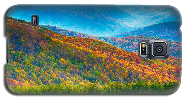 Max Patch Bald Fall Colors Galaxy S5 Case