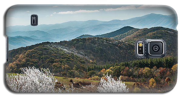 Galaxy S5 Case featuring the photograph Max Patch In Appalachian Mountains by Debbie Green