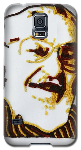 Galaxy S5 Case featuring the painting Max's Portrait by PainterArtist FINs husband Maestro