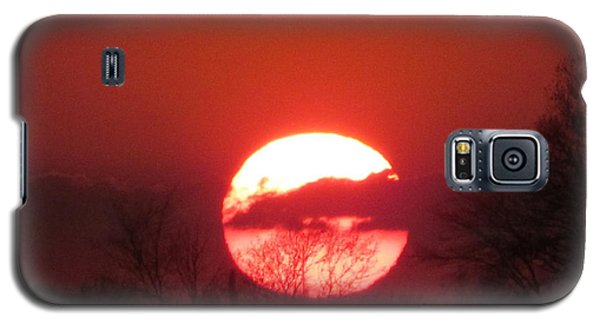 May 1 2013 Sunset Galaxy S5 Case by Tina M Wenger