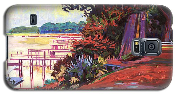 May River Docks Galaxy S5 Case by David Randall