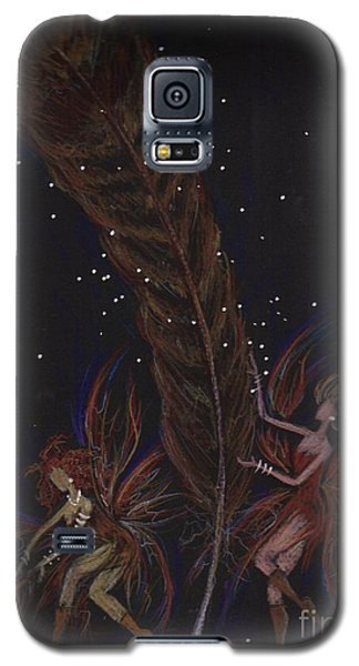 Galaxy S5 Case featuring the drawing May You Find by Dawn Fairies