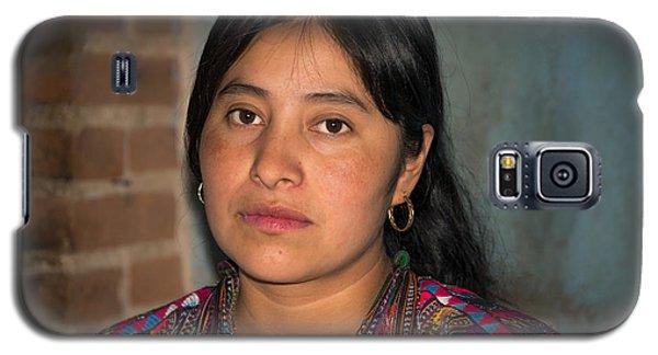 Mayan Girl Galaxy S5 Case