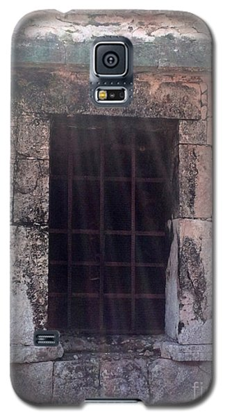 Mayan Ruins Sunlit Window Galaxy S5 Case
