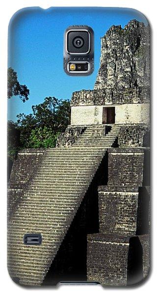 Mayan Ruins - Tikal Guatemala Galaxy S5 Case by Juergen Weiss