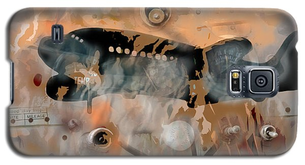 Galaxy S5 Case featuring the digital art Mayday by Bob Salo