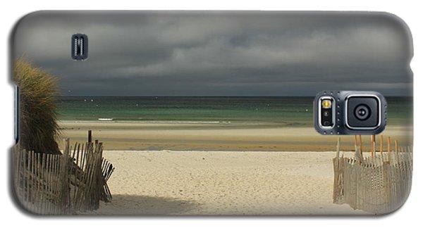 Mayflower Beach Storm Galaxy S5 Case
