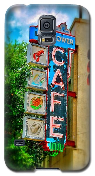 Mayflower Cafe Sign Galaxy S5 Case