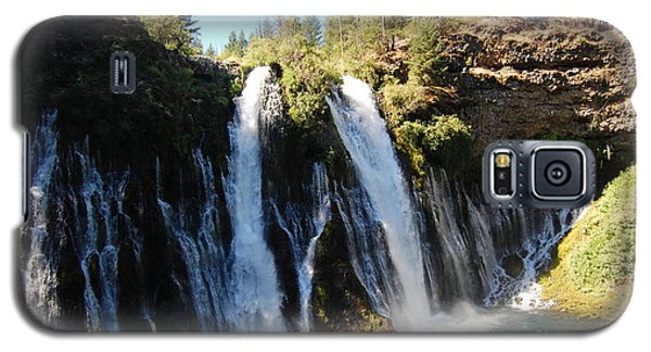 Galaxy S5 Case featuring the photograph Mcarthur-burney Falls 1 by Debra Thompson