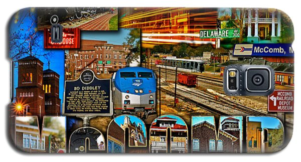 Galaxy S5 Case featuring the photograph Mccomb Mississippi Postcard 2 by Jim Albritton