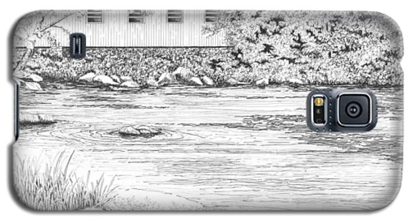 Mckenzie River Covered Bridge Galaxy S5 Case by Lawrence Tripoli