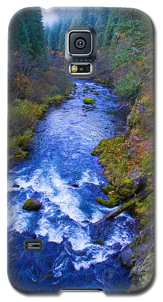 Mckenzie River In Autumn Galaxy S5 Case