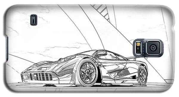 Mclaren F1 Sketch Galaxy S5 Case