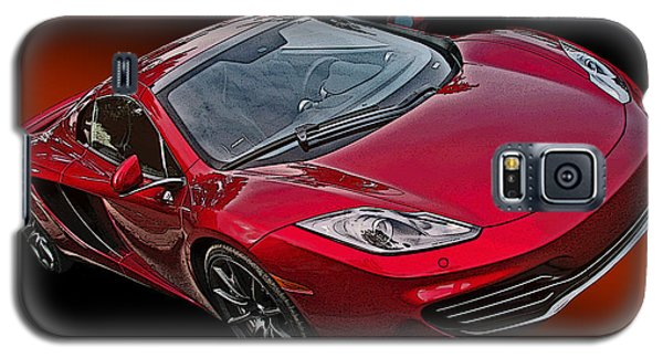 Mclaren Mp4-12c Galaxy S5 Case