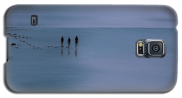 Galaxy S5 Case featuring the painting Mdt 1.2 by Tim Mullaney