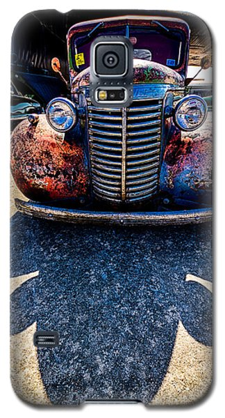 Galaxy S5 Case featuring the photograph Me And My Shadow by Jay Stockhaus