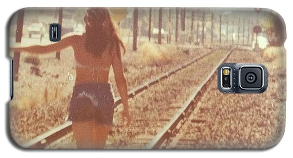 Summer Galaxy S5 Case - Me Back In The 70s When Livin' Was by Blenda Studio