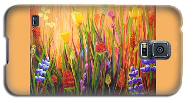 Meadow Gold Galaxy S5 Case