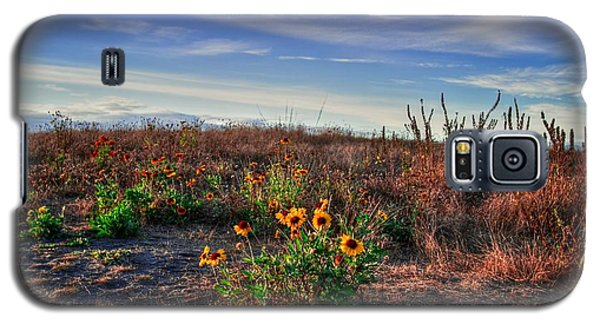 Galaxy S5 Case featuring the photograph Meadow Of Wild Flowers by Eti Reid