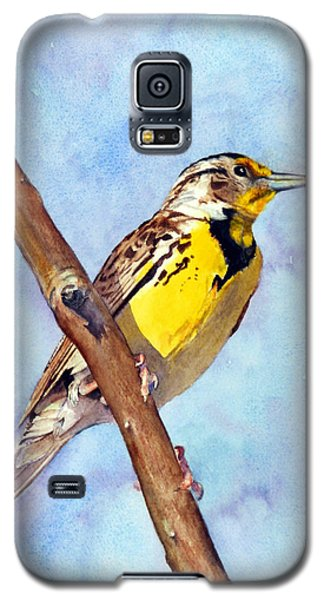Meadowlark Sunrise Galaxy S5 Case