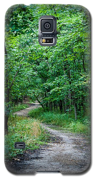 Galaxy S5 Case featuring the photograph Meandering Path by Wayne Meyer