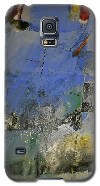 Galaxy S5 Case featuring the painting Meatier Illogical Cold Front by Cliff Spohn
