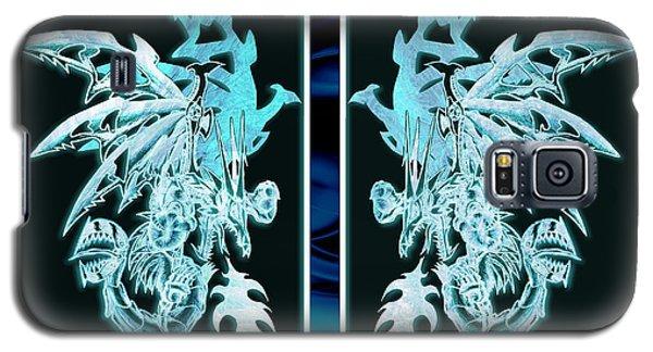 Mech Dragons Diamond Ice Crystals Galaxy S5 Case