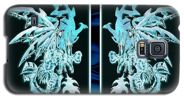 Mech Dragons Diamond Ice Crystals Galaxy S5 Case