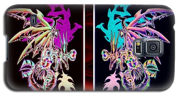 Mech Dragons Pastel Galaxy S5 Case