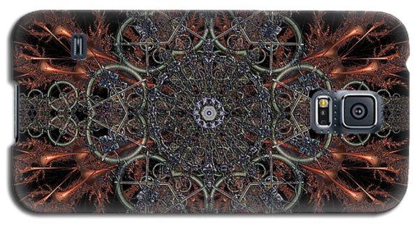 Galaxy S5 Case featuring the digital art Mechanisms Of Wonder by Rhonda Strickland
