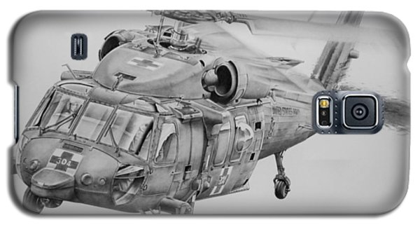 Helicopter Galaxy S5 Case - Medevac by James Baldwin Aviation Art