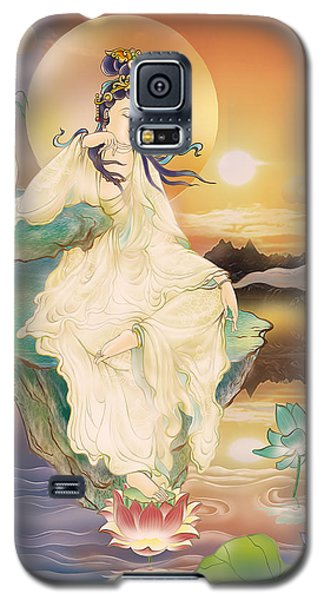 Medicine-giving Kuan Yin Galaxy S5 Case by Lanjee Chee