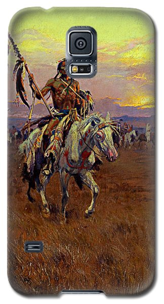 Medicine Man Galaxy S5 Case by Charles Marion Russell