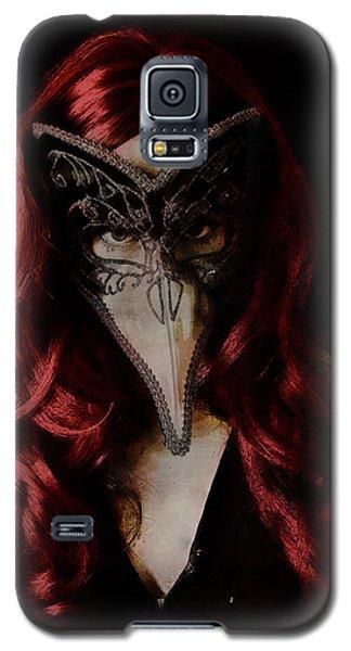 Galaxy S5 Case featuring the digital art Medico Della Peste by Galen Valle