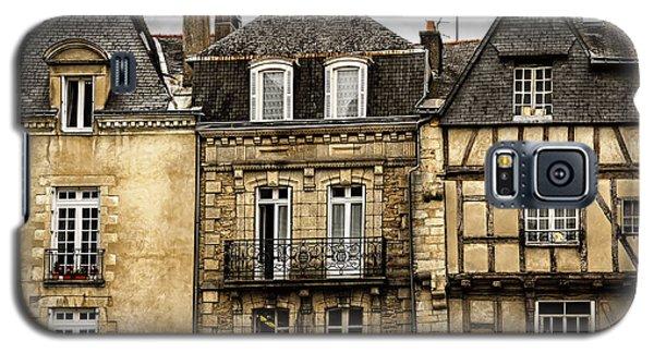 Town Galaxy S5 Case - Medieval Houses In Vannes by Elena Elisseeva