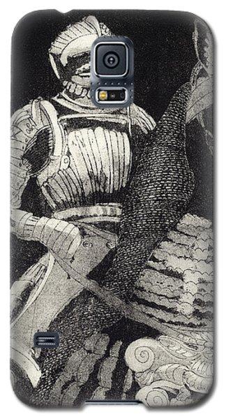 Medieval Knight On Horseback - Chevalier - Caballero - Cavaleiro - Fidalgo - Riddare -ridder -ritter Galaxy S5 Case