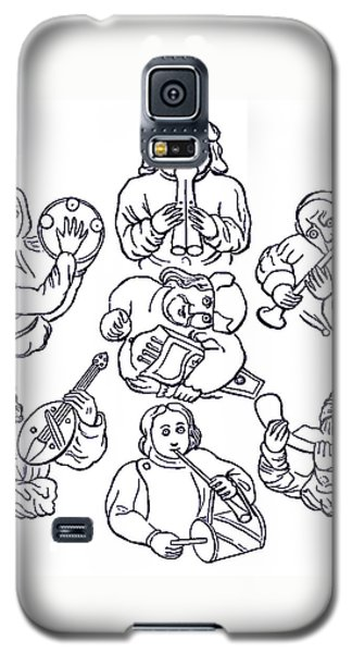 Medieval Musicians Galaxy S5 Case by Phil Cardamone