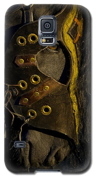 Galaxy S5 Case featuring the photograph Medieval Stallion D6649  by Wes and Dotty Weber