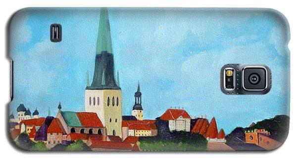 Medieval Tallinn Galaxy S5 Case by Laurie Morgan