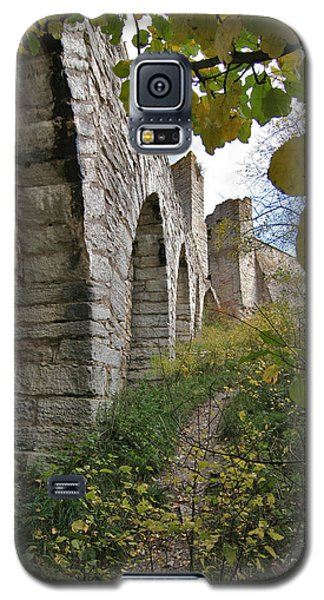 Medieval Town Wall Galaxy S5 Case