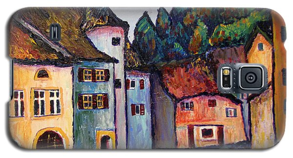 Medieval Village Of St. Ursanne Switzerland Galaxy S5 Case