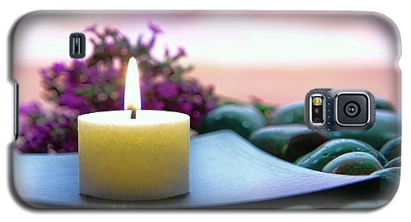 Meditation Candle Galaxy S5 Case