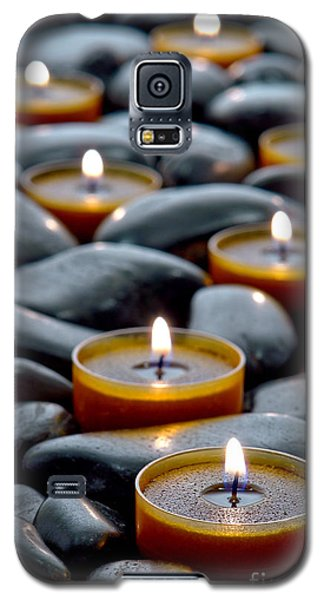 Meditation Candles Galaxy S5 Case